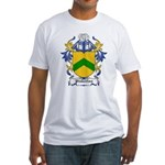 Pinkerton Coat of Arms Fitted T-Shirt