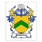 Pinkerton Coat of Arms Small Poster