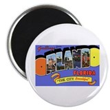 "Orlando Florida Greetings 2.25"" Magnet (10 pack)"