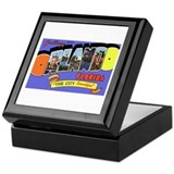 Orlando Florida Greetings Keepsake Box