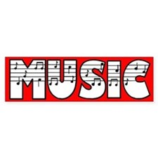 Music Bumper Bumper Sticker