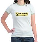 WWCD? Jr. Ringer T-Shirt Yellow Gold