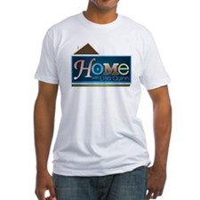 Home with Lisa Quinn Fitted T-Shirt