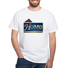 Home with Lisa Quinn White T-Shirt