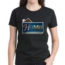 Home with Lisa Quinn Women's Dark T-Shirt