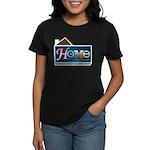 Home with Lisa Quinn Women's Dark T-Shirt