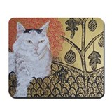 """Klimt's Cat"" Mousepad"