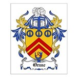 Orme Coat of Arms Small Poster