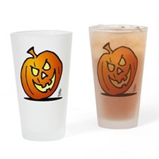 Halloween pumpkin Drinking Glass