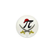 Pi - Rate Mini Button (100 pack)