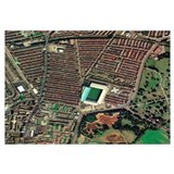 Everton's Goodison Park stadium, aerial