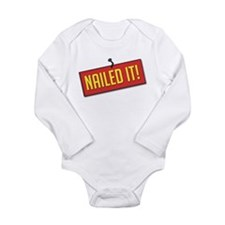 Nailed It! Long Sleeve Infant Bodysuit