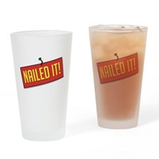 Nailed It! Drinking Glass