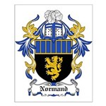 Normand Coat of Arms Small Poster
