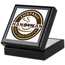 Instant Handyman Coffee Keepsake Box