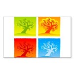 Protective Fathers Square Cocktail Plate