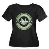 Instant Handyman Tea Women's Plus Size Scoop Neck