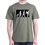 Kung Fu Evolution Black T-Shirt