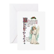 Vintage Angel Greeting Cards (Pk of 10)