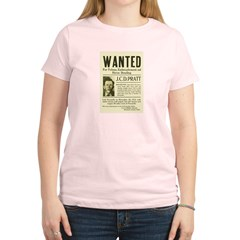 J. C. D. Pratt Wanted Women's Light T-Shirt