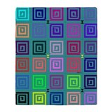 Big Square Throw Blanket