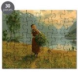 Girl in field Puzzle