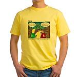 GPS Navigation Yellow T-Shirt