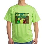 GPS Navigation Green T-Shirt