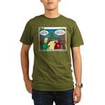 GPS Navigation Organic Men's T-Shirt (dark)