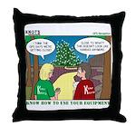 GPS Navigation Throw Pillow
