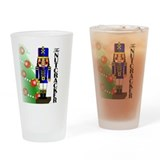 Nutcracker Ballet Drinking Glass