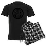 Uesugi1(B) Men's Dark Pajamas