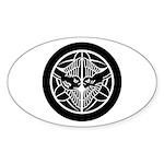 Uesugi1(B) Sticker (Oval)