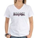 Army Mom HOOAH T Shirt