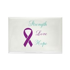 Funny Domestic violence sexual assault Rectangle Magnet (100 pack)
