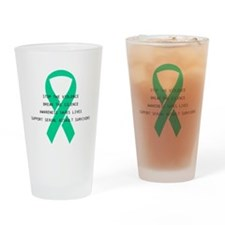 Stop the violence Drinking Glass