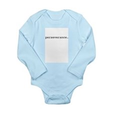 perseverance. Long Sleeve Infant Bodysuit