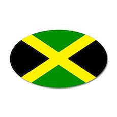Jamaica 20x12 Oval Wall Decal