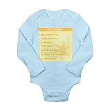 Pay it Forward 7 Long Sleeve Infant Bodysuit