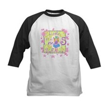 Little Ballerina 5th Birthday Tee