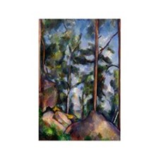 Paul Cezanne Rectangle Magnet