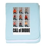 call of doodie baby blanket