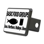 Basic Food Groups Rectangular Hitch Cover