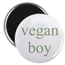vegan boy Magnet