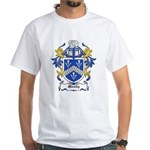 Moody Coat of Arms White T-Shirt