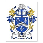 Moody Coat of Arms Small Poster