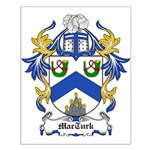 MacTurk Coat of Arms Small Poster