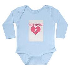 Survivor Long Sleeve Infant Bodysuit