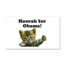 Cats for Obama! Car Magnet 20 x 12