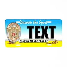 North Dakota Firefighter Custom License Plate